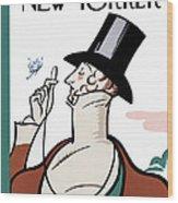 New Yorker February 21st, 1925 Wood Print
