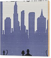 New Yorker March 21st, 1925 Wood Print