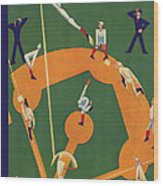 New Yorker October 5th, 1929 Wood Print