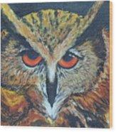 The Night Owl  Wood Print