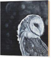 The Night Watcher Wood Print
