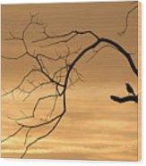 The Night Watchman Wood Print