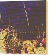 The Nightmare Carousel 7 Wood Print