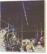 The Nightmare Carousel 8 Wood Print