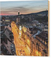 The Nights Of Sarajevo Wood Print