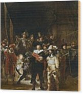The Nightwatch Wood Print
