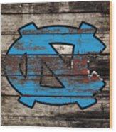 The North Carolina Tarheels 3e Wood Print