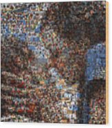 The Notebook Mosaic Wood Print