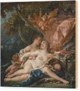 The Nymph Callisto Seduced By Jupiter Wood Print