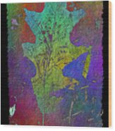 The Oak Leaf Wood Print