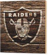 The Oakland Raiders 1e Wood Print