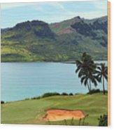 The Ocean Course At Hokuala In Kauai Wood Print