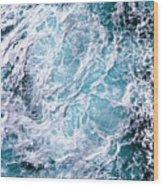 The Oceans Atmosphere Wood Print