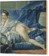 The Odalisque Wood Print by Francois Boucher