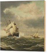 The Olbers At Sea Wood Print