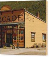 The Old Arcade Wood Print