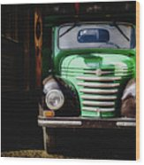 The Old Beer Truck Wood Print