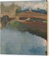 The Old Bridge Wood Print