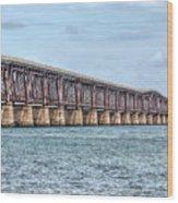 The Old Camelback Bridge Wood Print