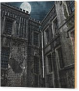 The Old City Jail Wood Print