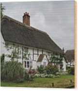 The Old Cottage Micheldever Wood Print