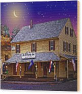 The Old Country Store Wood Print