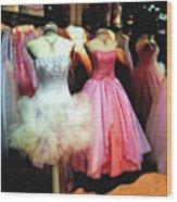 The Old Dress  Shop Wood Print