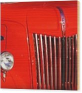 The Old Ford Truck Wood Print