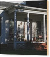 The Old Front Porch Wood Print