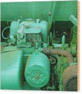 The Old Green Dumper Wood Print