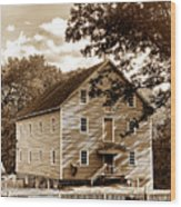 The Old Gristmill  Wood Print