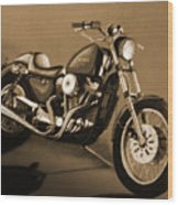 The Old Harley Wood Print