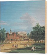 The Old Horse Guards Wood Print