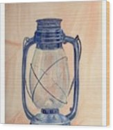 The Old Lantern Wood Print