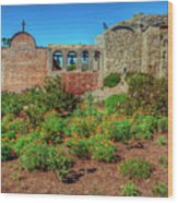 The Old Mission Wood Print