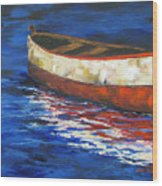 The Old Red Boat 2011 Wood Print