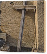 The Old Rugged Cross Wood Print