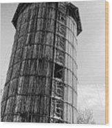 The Old Silo Wood Print