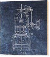 The Old Wine Press Wood Print