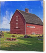 The Olmstead Place Wood Print by Wendy White