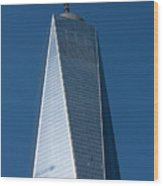 The One World Trade Centre Or Freedom Tower New York City Usa Wood Print