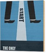 The Only True Failure Is Giving Upcorporate Start-up Quotes Poster Wood Print