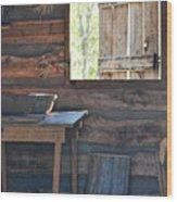 The Open Window Wood Print