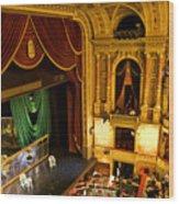 The Opera House Of Budapest Wood Print