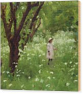 The Orchard  Wood Print