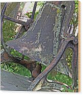 The Original Bell Of Oak Hill Cemetery Wood Print