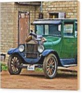 The Original Ford Bronco Wood Print