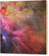 The Orion Nebula Close Up I Wood Print