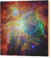 The Orion Nebula Close Up II Wood Print