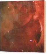 The Orion Nebula Close Up Iv Wood Print